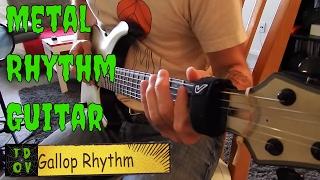 10 Essential Metal Rhythm Guitar Techniques in 1 Song