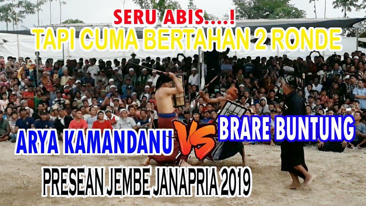Arya Kamandanu vs Brare Buntung ( Presean Jembe 2019)