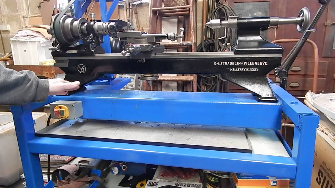 Spanning Beam Metal Lathe Stand Youtube