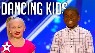 Aryton & Paige on America's Got Talent 2017 | Got Talent Global