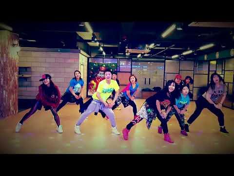 ZUMBA LETRAS RAP & TRAP - DURA DADDY YANKEE LETRA - Choreo by Shindong in Korea