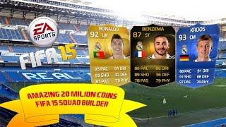 FIFA 15 | Amazing 20 Milion Coins BBVA Squad Builder w/TOTY