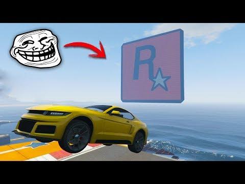 CARRERA DE ROCKSTAR TROLL! - GTA 5 ONLINE - GTA V ONLINE