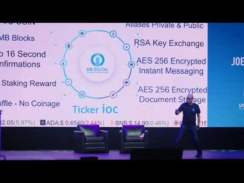 Joel Bosch - I/O Digital IOC - The North American Bitcoin Conference 2018