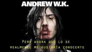 She is beautiful - Andrew W K - Sub Español
