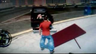 Saints Row 2 How To - Put Bodies In Your Car Trunk.