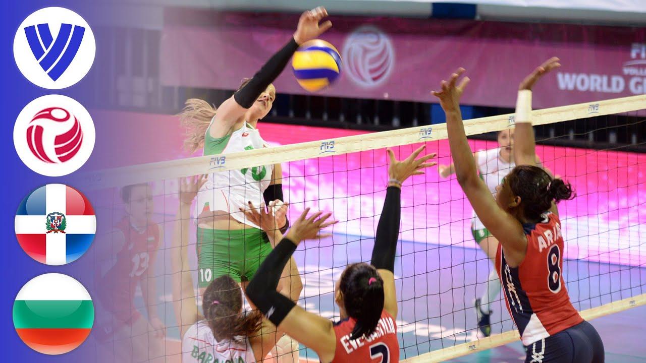 Dominican Republic vs. Bulgaria - Full Match | Women's Volleyball World Grand Prix 2016