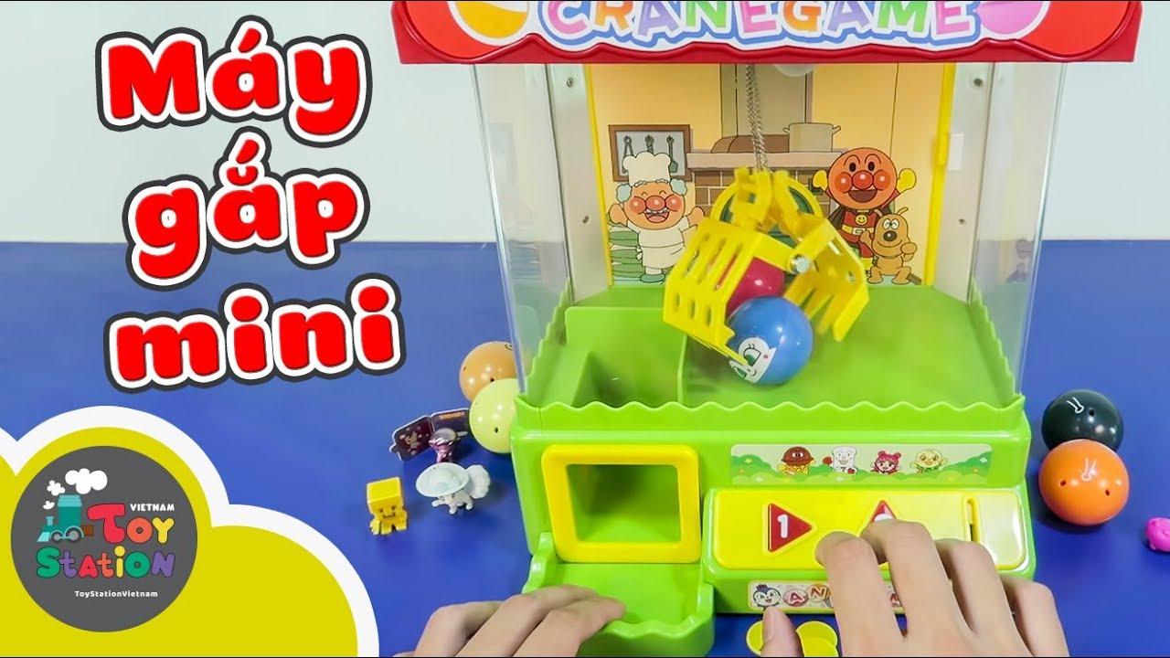 Với máy gắp Mini ở nhà thỏa mãn cơn ghiền gắp thú siêu thị ToyStation 241