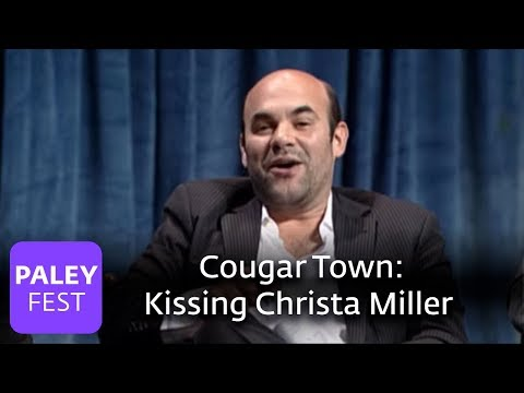 Cougar Town  Ian Gomez on Kissing Christa Miller Paley Center