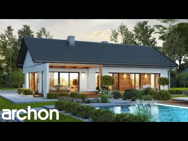 10 Modern Four Bedroom One Story House Plans Youtube