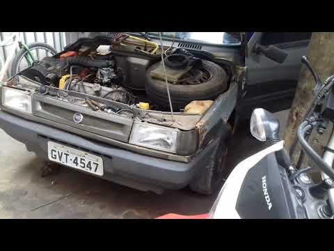 Carburador De Fusca Adaptado No Fiat Elba.