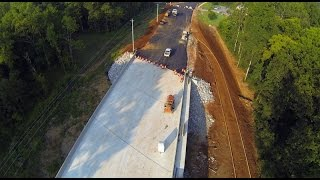 Old Madison Pike Road Construction Overflight: 04 September 15