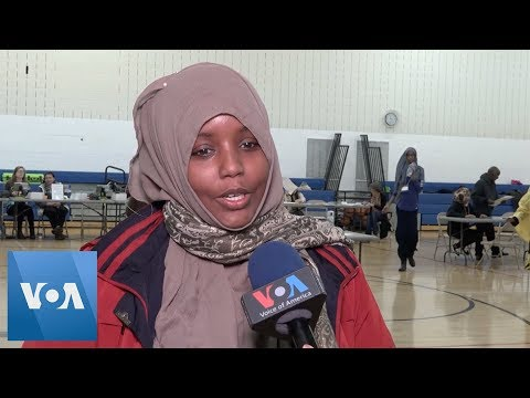 U.S. Voters Interviewed On Midterm Election Day