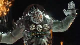 middle earth shadow of war. Ur-edin pain lover.Ps4.