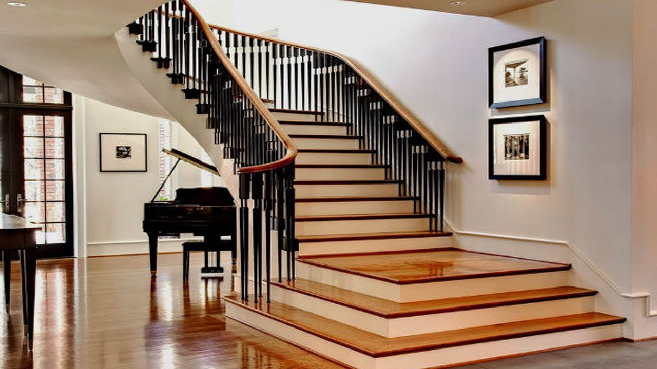 Stairs Design Ideas For Small House Stair Designs For Homes 2018 | Indian Duplex House Staircase Designs | House Plan | Stunning | Simple | 2Nd Floor Stair | Railing