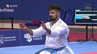 Ali Sofuoğlu vs Emre Vefa Göktaş - Ferdi Kata - Karate 1 Premier Lig - Paris 2020