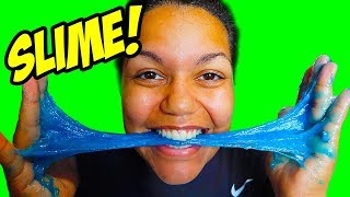 CAN YOU EAT SLIME? (How To Make 3 DIY Slimes)