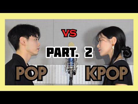 2탄 한곡에 Pop + Kpop 이어부르기 Sing Off Feat BTS EXO GOT7 Beyonce Justin Bieber Mashup