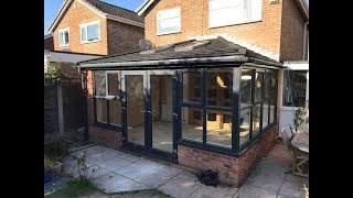 Insulated conservatory roof