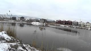 Приключения на озере Ак-гёль 05.01.2016