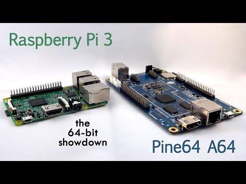 SHOWDOWN: Pine A64 vs Raspberry Pi 3