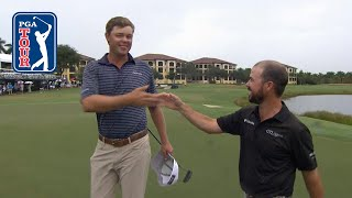 Patton Kizzire/Brian Harman highlights | Round 3 | QBE Shootout 2018