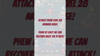 Gunship Battle: Total warfare Attacking level 16 Armada base