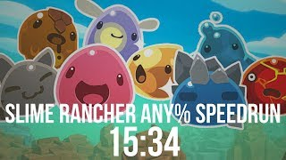 Slime Rancher Any%  1.3.0 Speedrun | 15:34.540