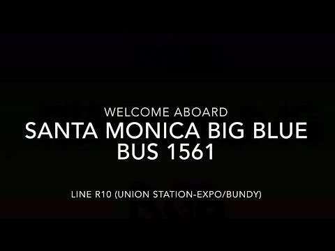 (EXPRESS) Santa Monica Big Blue Bus 2015 New Flyer XN60 #156