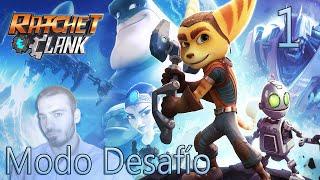 Modo Desafío Ratchet & Clank PS4 | Parte 1 | Museo Insomniac | Veldin | ¡QUIERO GUITONES Y FIESTA!