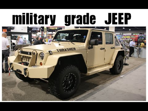 Military Grade Jeep By Jankel Youtube