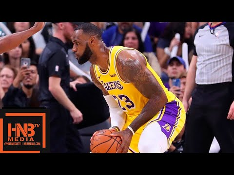 Los Angeles Lakers vs San Antonio Spurs 1st Half Highlights | 10.27.2018, NBA Season