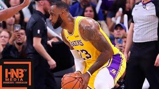 Los Angeles Lakers vs San Antonio Spurs 1st Half Highlights | 10.27.2018, NBA Season