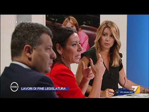 Omnibus - Lavori di fine legislatura (Puntata 13/09/2017)