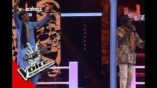 Evens Mab vs Hamidou ' I've Got You Babe ' de Lucky Dube Les Battles   The Voice Afrique 2017