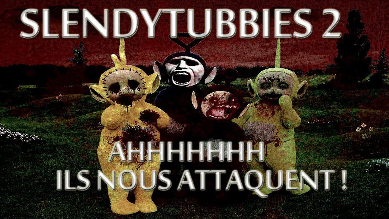 des teletubbies qui font peur slendytubbies 2 youtube. Black Bedroom Furniture Sets. Home Design Ideas