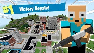 💀 JUGANDO FORTNITE BATTLE ROYALE EN MINECRAFT! 🌎