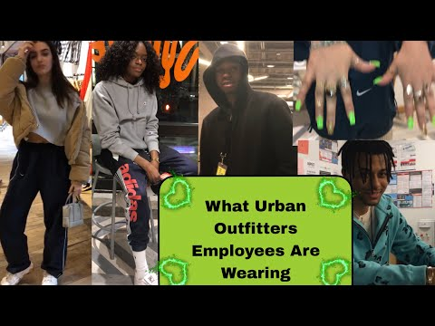 What Urban Outfitters Employees are Wearing