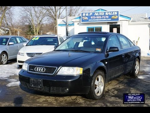 2001 Audi A6 2.7 T >> 2001 Audi A6 2 7t Quattro 6 Speed Manual