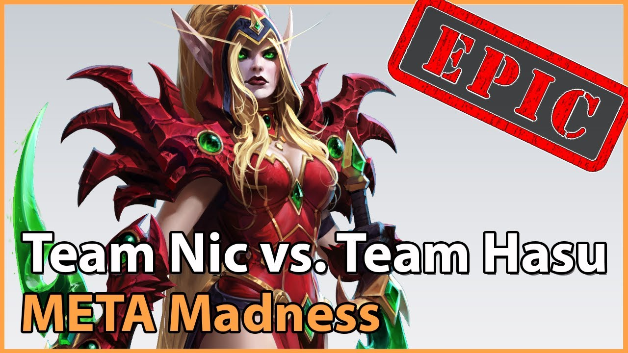 ► EPIC Team Nic vs. Team HasuObs - META Madness Playoffs - Heroes of the Storm Esports