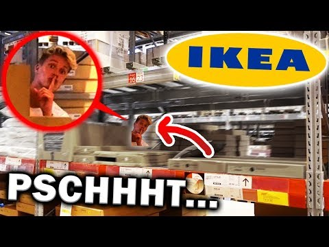 🚨 VERSTECKEN im IKEA 😱 (Vlog)