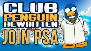 How To Join The PSA - Club Penguin Rewritten