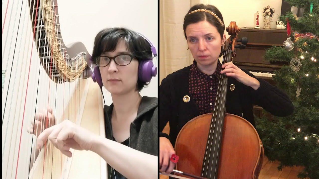 "Ellen Gibling and Catherine Little Perform ""Burgundian Carol"""