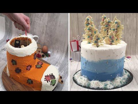 Hot Chocolate Punch 🍫Jingle Bell Cheesecake🍷Winter Wonderland Cake 🎂 The Best Holiday Desserts ☃️