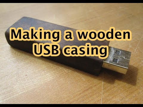 Wooden USB Housing