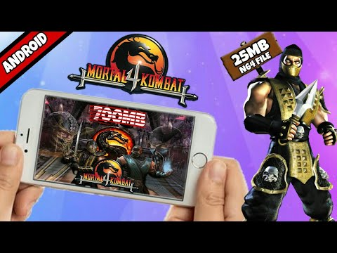 Mortal Kombat 4 APK+DATA FOR ANDROID GAME HOW TO DOWNLOAD