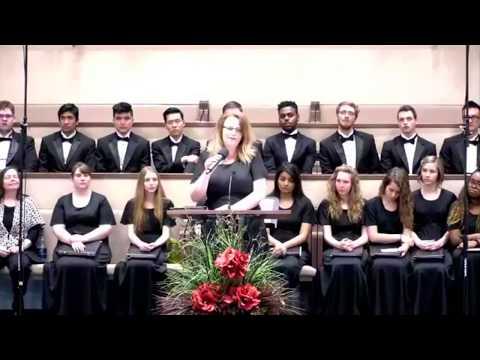 """The Tree of Peace""  Burman University Choir"