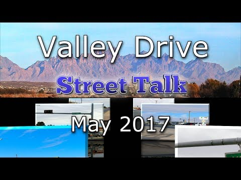 Valley Drive Project -May 2017 Meeting
