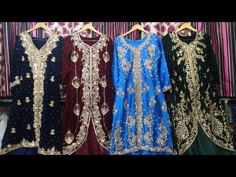 Velvet Gown Collection 2019 | Bridal Gown, Designer Tail Cut Gown, Heavy Neck Gown | Gown Factory