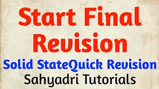 Start Final Revision | Strategy | MHT-CET 2020